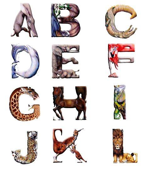 English alphabet by Casey G.
