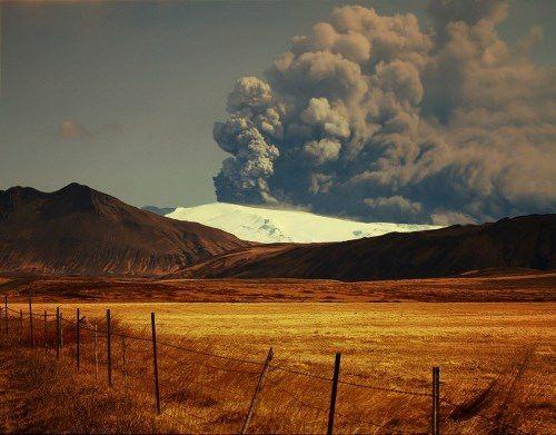 Eyjafjallajokull Glacier, Iceland