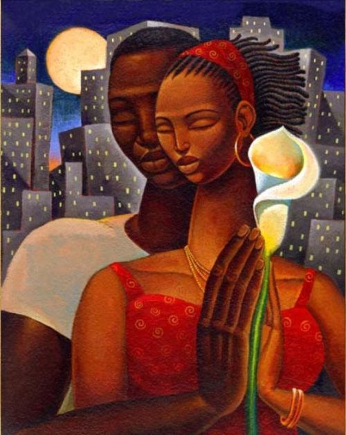 Family ties. Artist Keith Duncan Mallett