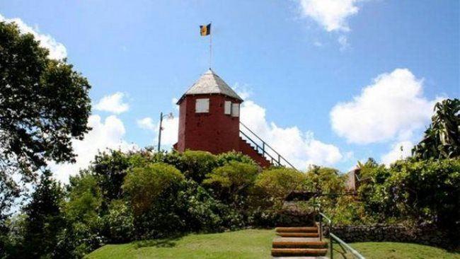 Fire tower on Gun Hill