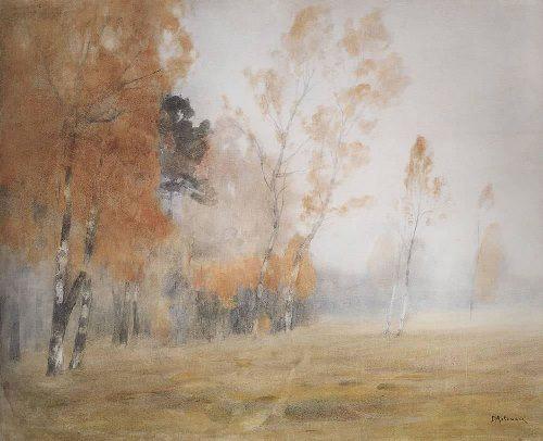 Fog. Autumn. Isaac Levitan