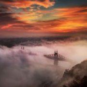 Foggy Budapest. Author Tamas Rizsavi