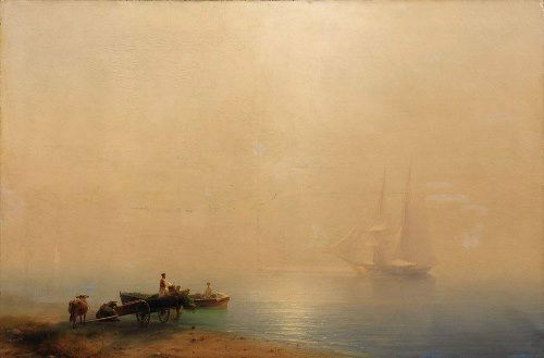 Foggy morning. Aivazovsky