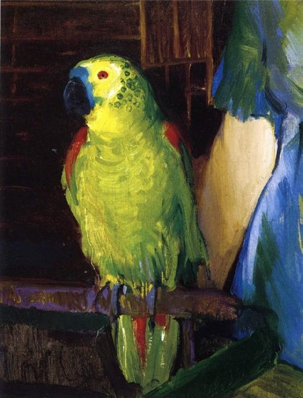 George Bellows Wesley Parrot, 1915