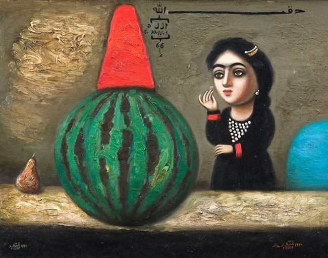 Geyur Yunus. Great watermelon. 1990
