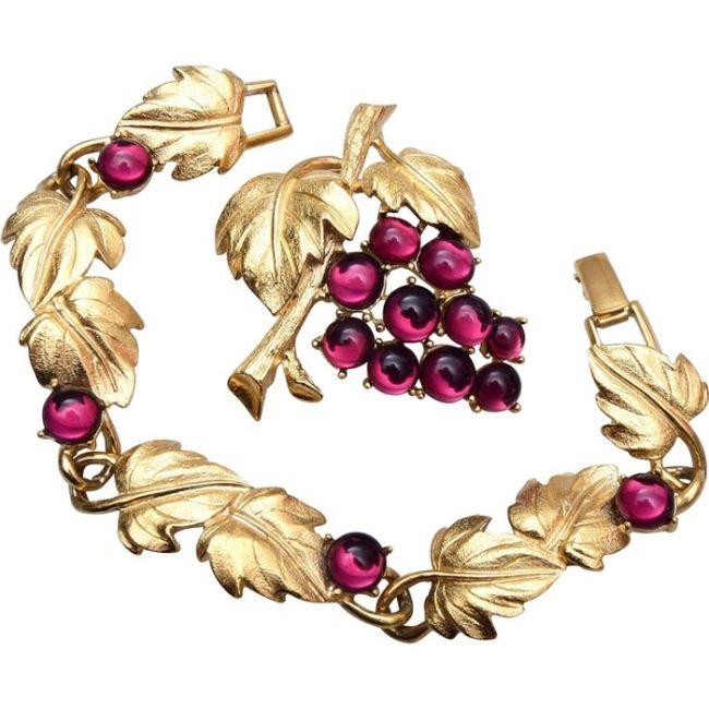 Gorgeous grape jewelry