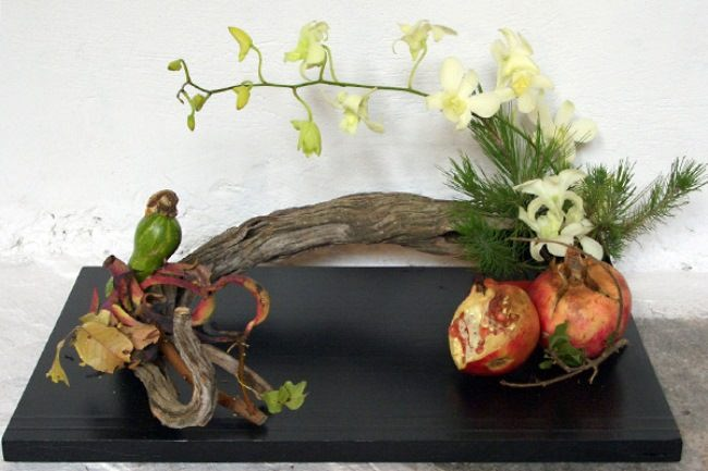 Graceful ikebana