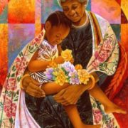 Grandmother's care. Artist Keith Duncan Mallett