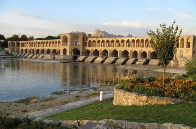 Haju Bridge in Isfahan