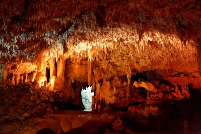 Harrison's Cave - the seventh wonder of Barbados