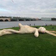 Huge hare by Florentijn Hofman