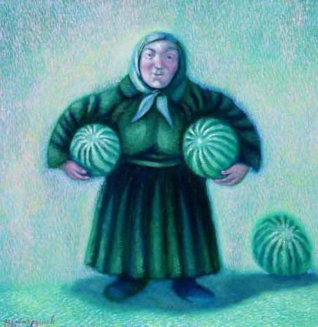 Igor Shaymardanov. Watermelons. 2004