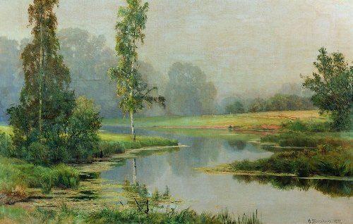 Ivan Ivanovich Shishkin. Foggy morning