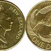 Kiwi on the coin