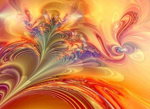 Magnificent fractals by Titia Vanbeugen