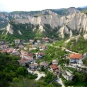 Melnik is the smallest Bulgarian town
