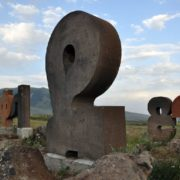 Monument to Armenian alphabet