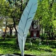 Monument to feather