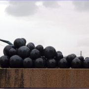 Monument to the grapes in La Rioja, Spain