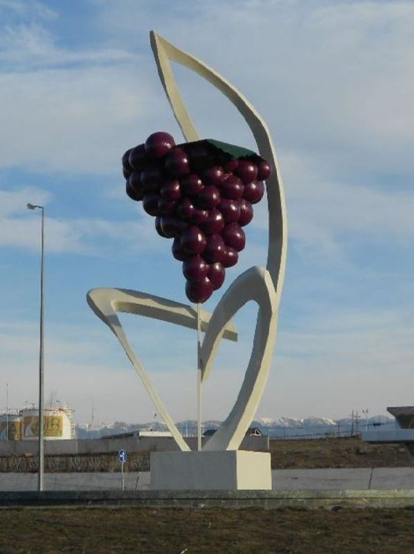 Monument to the grapes in Tbilisi, Georgia