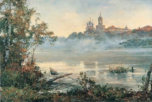 Morning fog. V. Nesterenko