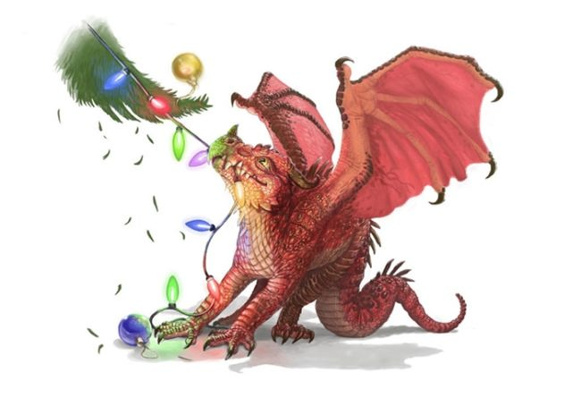 New Year dragon