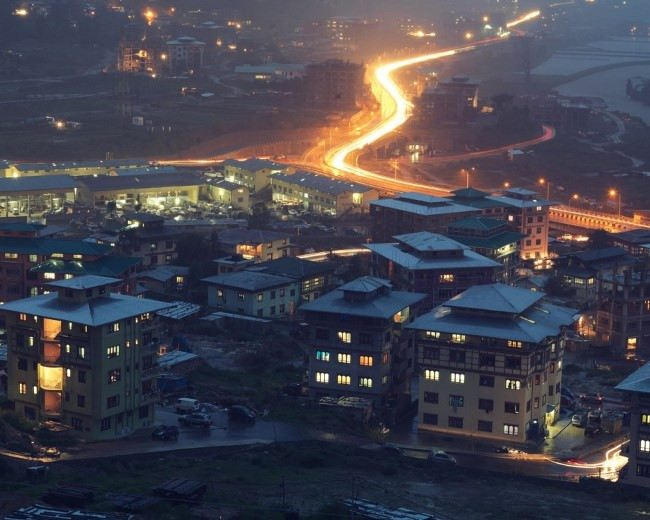 New houses in Thimphu. Bharat Sikka for TIME