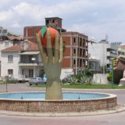 Orange Monument in Finike, Turkey