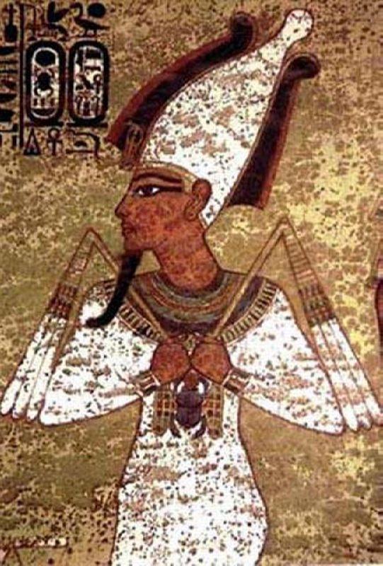Osiris - the first Egyptian god of death