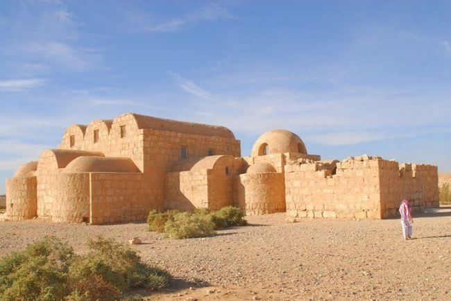 Palaces in the desert
