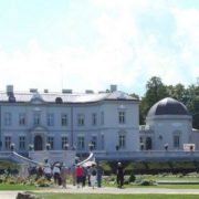 Park and Museum of Amber in Palanga