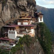 Paro Taktsang, October 16, 2011. The first temple was built on this rock in 1692. Reuters Adrees Lati