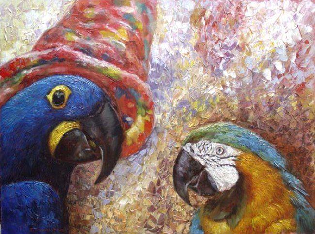 Podgaevskaya Marina. Parrots