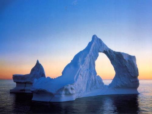 Pretty glacier