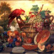 Radomsky Still Life with a Parrot