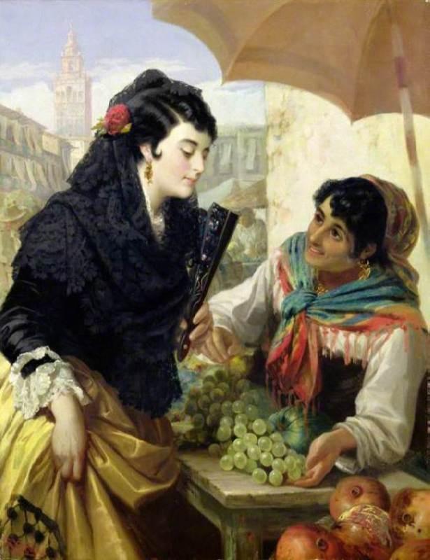 Robert Kemm. The Fruit Seller