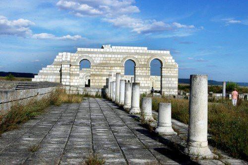 Ruins of ancient Pliska
