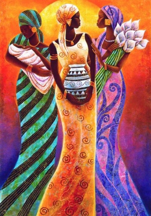 Sisters of the sun. Artist Keith Duncan Mallett