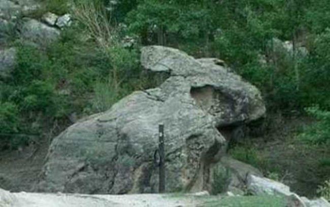 Stone hare from Xinjiang