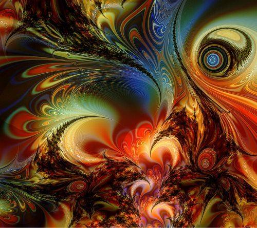 Stunning fractals by Titia Vanbeugen