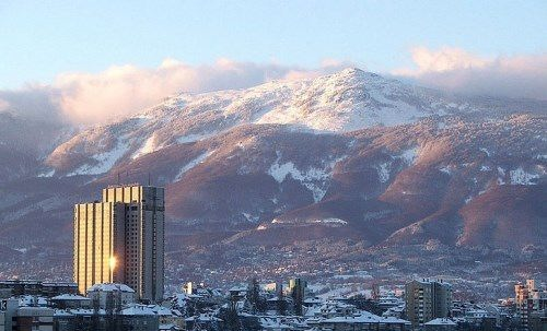 The Vitosha mountain range