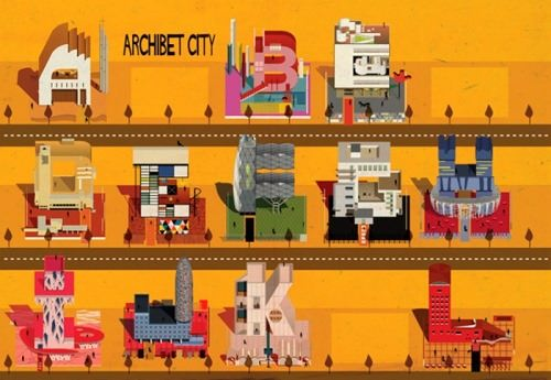 The architectural alphabet by Federico Babina