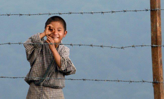 The boy from the village of Kamji near the border of India and Bhutan, November 14, 2009. Reuters Adnan Abidi