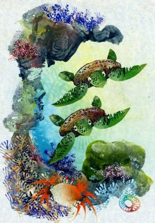 Underwater world by Doug Rankin