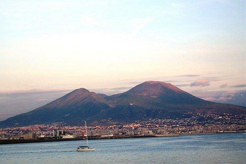 Vesuvius volcano