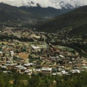 View of Thimphu, the capital of Bhutan. Bharat Sikka for TIME