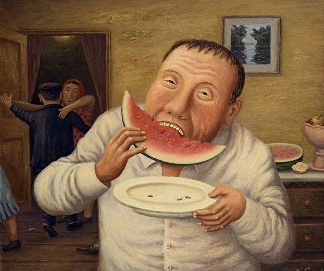 Vladimir Lubarov. Watermelon