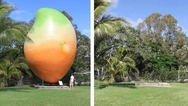 10-ton Monument of Mango was stolen