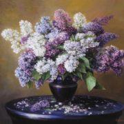 A bouquet of lilac. Kirill Valentinovich Kiselev