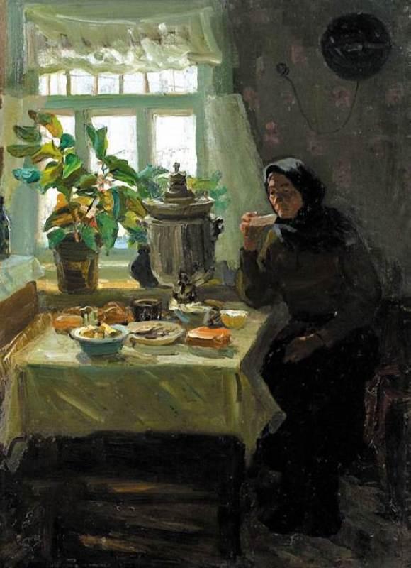 Anatoly Volkov. 1955